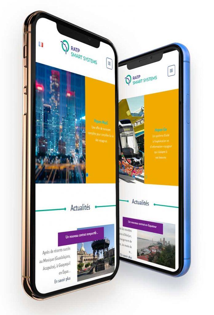 etude de cas mockup iphone ratp smart systems la petite boite qui com